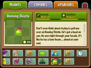 Homing Thistle almanac entry part 2