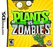 Plants vs zombies ds box