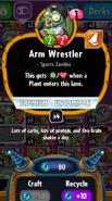 Arm Wrestler statistics