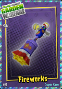 Sticker Weapon GoldG Fireworks