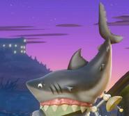 Hat Shark Head
