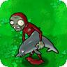 Зомби-наездник на дельфине