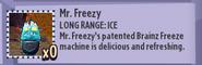 Mr. Freezy Stats