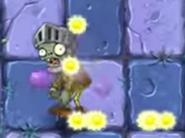 Knight zombie giving sun