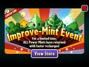 Improve-mint Event - Power Mints Return