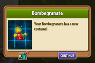 Bombegranate got Costume 2