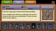 Imp Pirate Zombie Almanac Entry