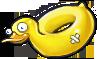 Надувная утка