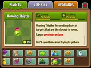 Homing Thistle almanac entry part 1