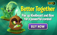 Kiwibeast and Aloe are better together (ad)