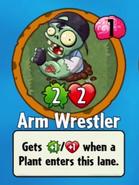 Arm Wrestler Bought New