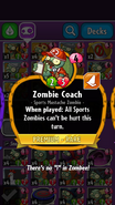 Zombie Coach Description
