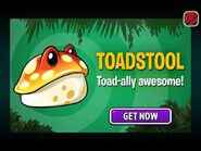Toadstool Ad