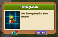 Bombegranate got Costume 1