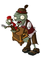 Jack In The Box Zombie Concept