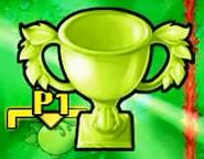 Versus Mode Plant Trophy