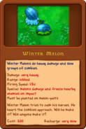 New Winter-Melon almanac