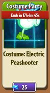 Electric Peashooter Costume in Store