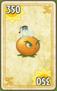 Citron Costume Card