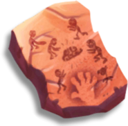 Frostbite Caves Stone Tablet