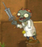 Doctor Zombi without arm