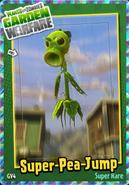 Super Pea Jump Sticker
