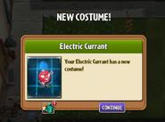Electric Currant Got Costume