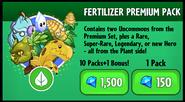 Fertilizer Premium Pack New