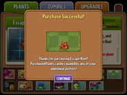 Escape Root Purchased
