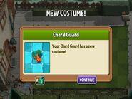 Getting Chard Guard Costume