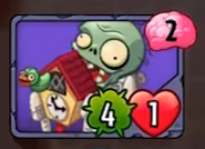 Cuckoo Zombie Old Card