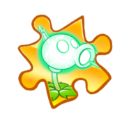 Electric Peashooter Puzzle Piece