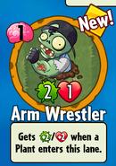 Arm Wrestler Bought