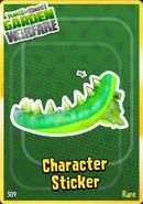 Toxic Chomper Sticker