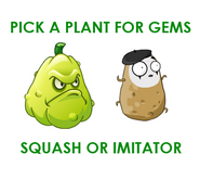 Poster with Squash and Imitater