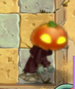Orange Pumpkin Zombie