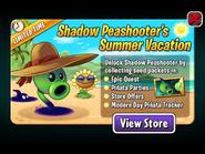 Shadow Peashooter's Summer Vacation Ad