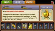 Zombot Sphinx-inator Almanac Entry Part 2