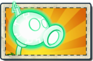 Electric Peashooter Boosted Seed Packet