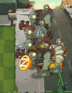 Gargantuar Parties1 Zombies