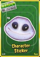 Sticker Alien Flower5