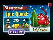 HollyBarrierEpicQuest