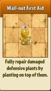 Wall-nut First Aid PvZ2
