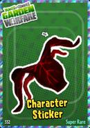 Count Chompula Sticker 3