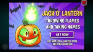 Jack O' Lantern's Ads