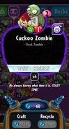 Cuckoo Zombie stats