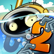 Plants Vs. Zombies™ 2 It's About Time Square Icon (Versions 2.9.1)