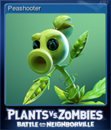 Steam BfN Peashooter Card