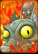 Zombot Dark Dragon in Volcano Level Icon