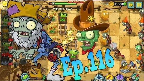 Plants vs. Zombies 2 New Prospector Zombie Wild West Day 2 (Ep